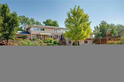 Cherry Hills Village Single Family Home Under Contract: 6200 Charlou Drive