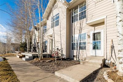 Steamboat Springs Condo/Townhouse Active: 1220 Sparta Plaza #5