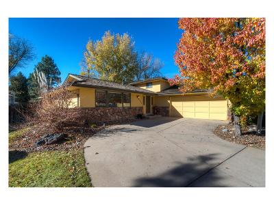 Centennial Single Family Home Under Contract: 6379 South Oneida Court