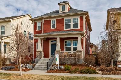 Denver Single Family Home Active: 3442 Trenton Street