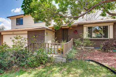 Aurora Single Family Home Active: 2578 South Dillon Street