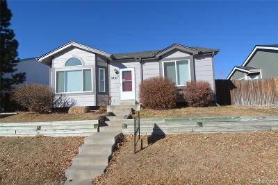 Castle Rock Single Family Home Under Contract: 5727 East Melody Lane