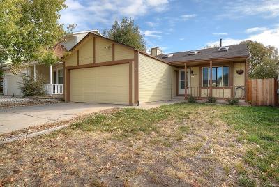 Colorado Springs Single Family Home Active: 2345 Calistoga Drive