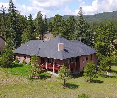 Woodland Park Single Family Home Under Contract: 1423 Masters Drive