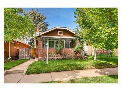 Denver Single Family Home Under Contract: 275 South Washington Street
