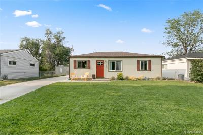Wheat Ridge Single Family Home Under Contract: 10895 West 38th Place