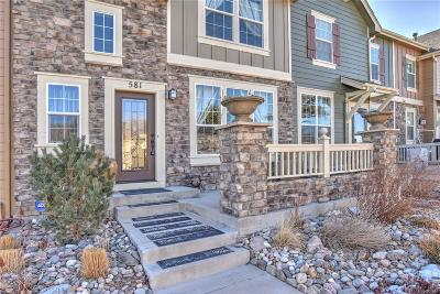 Castle Rock Condo/Townhouse Under Contract: 581 Hanging Rock Place