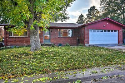 Denver Single Family Home Active: 4338 West Bellewood Drive