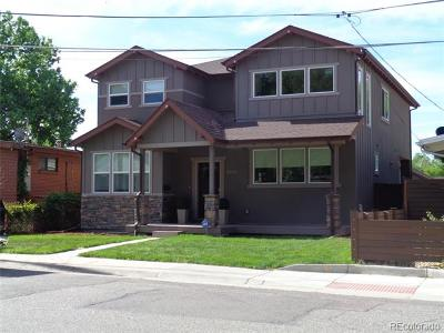 Denver Single Family Home Active: 3036 East Mexico Avenue