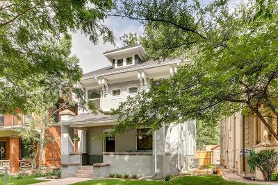 Denver Single Family Home Under Contract: 1608 Steele Street