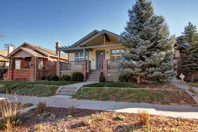 Denver Single Family Home Under Contract: 352 Corona Street