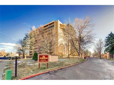 Denver Condo/Townhouse Active: 8060 East Girard Avenue #912