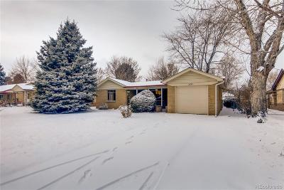 Wheat Ridge Single Family Home Under Contract: 3695 Marshall Street