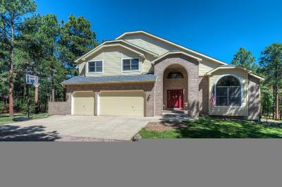 Monument Single Family Home Active: 17375 Charter Pines Drive