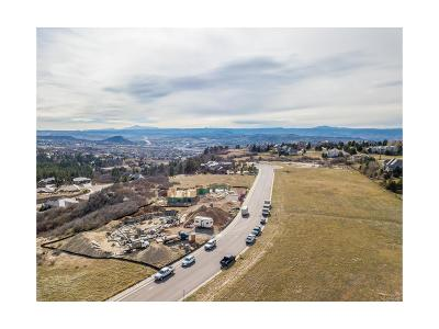 Castle Rock Residential Lots & Land Active: 1561 White Fir Terrace