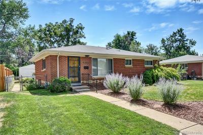 Aurora, Denver Single Family Home Active: 3062 Victor Street