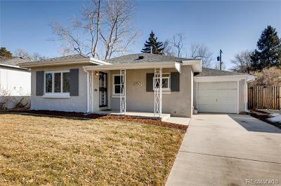 Denver Single Family Home Active: 650 Olive Street