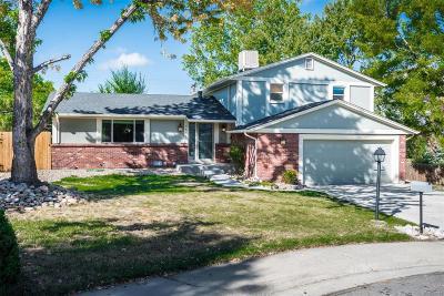 Wheat Ridge Single Family Home Under Contract: 3591 Garland Street
