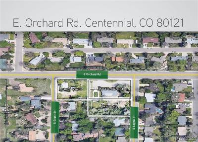 Centennial Residential Lots & Land Active: 350 East Orchard Road