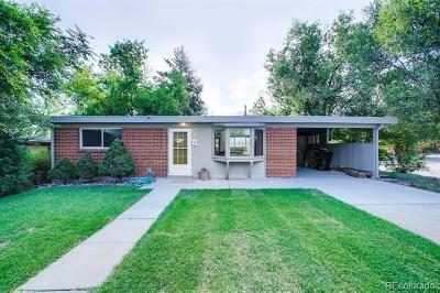 Denver Single Family Home Active: 2690 South Perry Street