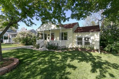 Wheat Ridge Single Family Home Under Contract: 4655 Teller Street