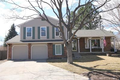 Littleton Single Family Home Under Contract: 10242 West Frost Place