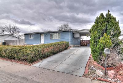 Thornton Single Family Home Under Contract: 8864 Neil Street