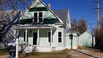 Ault Single Family Home Under Contract: 109 North 3rd Avenue