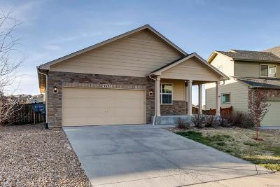 Castle Rock Single Family Home Active: 3695 Amber Sun Circle