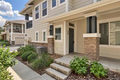 Highlands Ranch Condo/Townhouse Under Contract: 32 Whitehaven Circle