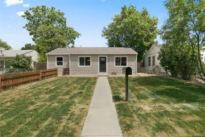 Denver Single Family Home Active: 950 King Street