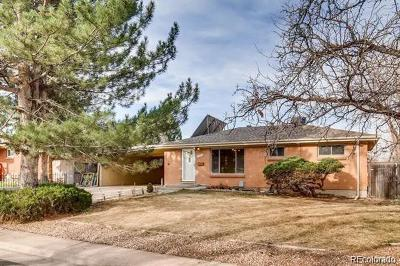 Aurora Single Family Home Active: 2573 Blackhawk Street