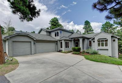 Evergreen Single Family Home Under Contract: 2354 Pine Tree Lane