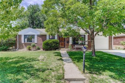 Denver Single Family Home Active: 717 South Jasmine Street