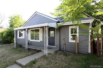 Aurora Single Family Home Active: 1280 Beeler Street