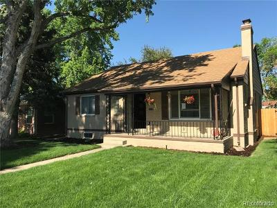 Denver Single Family Home Active: 1670 Rosemary Street