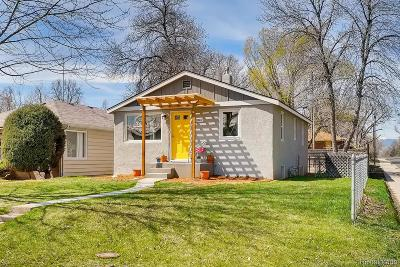 Longmont Single Family Home Under Contract: 1047 Terry Street