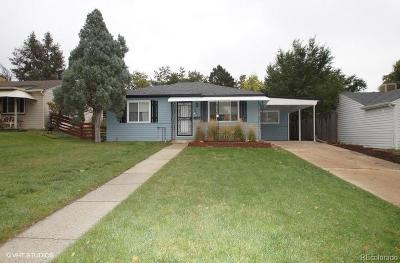 Wheat Ridge Single Family Home Under Contract: 2840 Gray Street