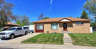 Northglenn Single Family Home Under Contract: 10755 Logan Court