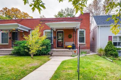 Condo/Townhouse Under Contract: 1637 South Emerson Street