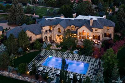 Cherry Hills Village Single Family Home Active: 5901 Piedmont Drive