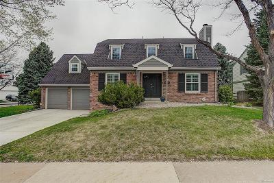 Centennial Single Family Home Under Contract: 6951 South Niagara Court