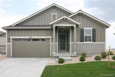 Aurora Single Family Home Active: 7316 South Titus Way
