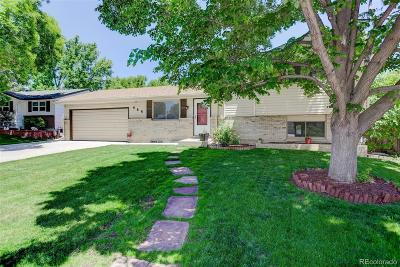 Lone Tree Single Family Home Under Contract: 444 Neptune Court