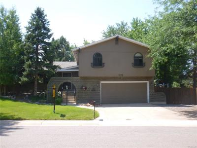 Littleton Single Family Home Active: 7685 South Datura Circle