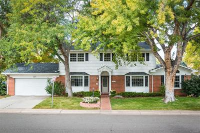 Denver Single Family Home Active: 2755 East Cornell Avenue