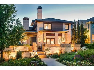 Denver CO Single Family Home Active: $4,400,000