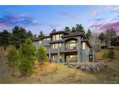 Golden Single Family Home Active: 25047 Foothills Drive