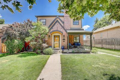 Denver CO Single Family Home Active: $1,000,000