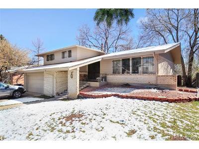 Denver CO Single Family Home Active: $495,000